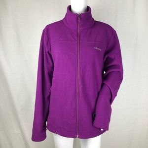Columbia Full Zip Fleece Size XL